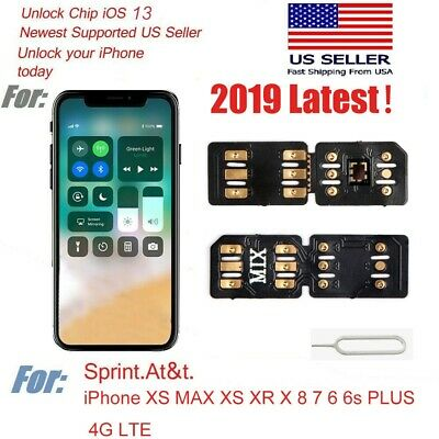 Perfect Nano Unlock Sim Turbo Card 14 for iPhone XS Max XR X GPP R iOS 12.4 4G