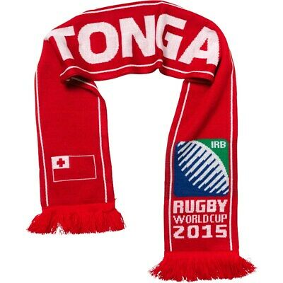 Tonga Rugby Union RWC World Cup England 2015 Scarf 2019 Japan