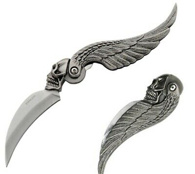 Hells/Hell's Angels -RSIDE - Skull And Wing Knife