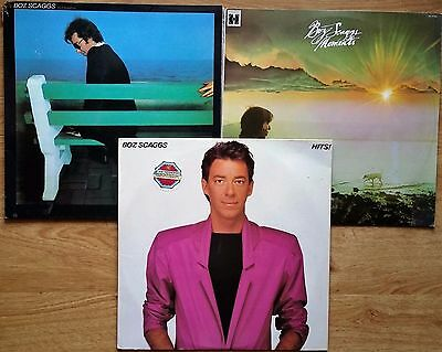 ♫ 3 classic BOZ SCAGGS albums - vinyl is in near excellent condition ♫