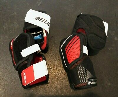 BAUER NSX ICE Hockey Shoulder Pads Size Junior Large (1018 B