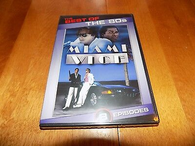 THE BEST OF THE 80S MIAMI VICE Crime Series Classic TV Florida 1980's DVD NEW