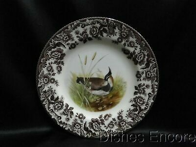 "Spode Woodland Lapwing Game Bird, England: Salad Plate (s), 7 3/4"", NEW w/ Box"