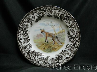 "Spode Woodland Red Fox, England: Salad Plate (s), 7 3/4"", NEW w/ Orig Box"
