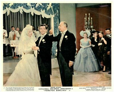 Forever Darling Original Lobby Card Lucille Ball Desi Arnaz Louis Calhern weddin