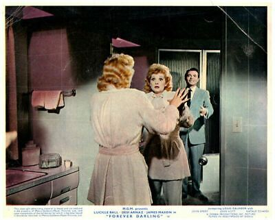 Forever Darling Original Lobby Card Lucille Ball James Mason 1956