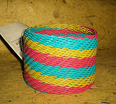 Bangle new Fair Trade African Telephone Wire cuff itw47