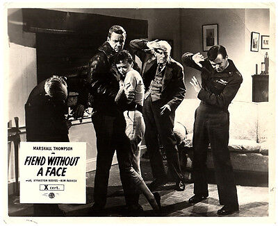 Fiend Without A Face Original Lobby Carte Horreur Marshall Thompson Kim Parker