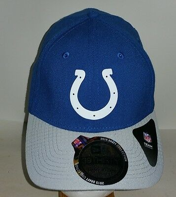 61782d58af4bde INDIANAPOLIS COLTS NEW Era Blue and Gray Fitted S/M Hat NFL NEW ...