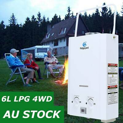 Gas Hot Water Heater Camping Shower Portable Caravan Outdoor System 4WD