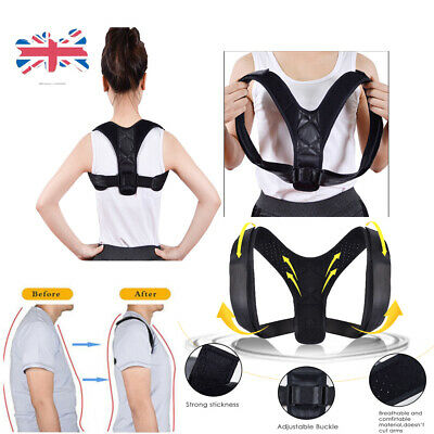 1/2/3/4/5 Packs BodyWellness Posture Corrector Adjustable Orthotics Braces UK DD