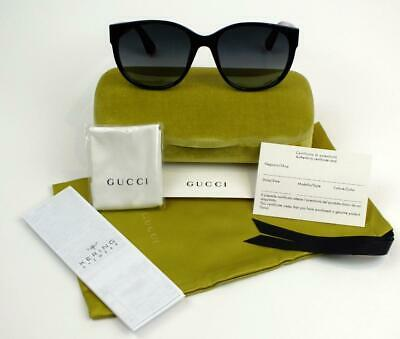 New Gucci Sunglasses Gg0097S 005 Black-Red