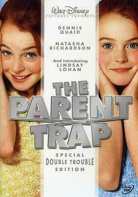 The Parent Trap Special Double Trouble Edition Dennis Quaid PG DVD Kids ADD-ON