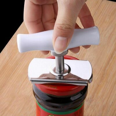 Bottle Jar Can Lid Opener Cap Grip Twister Easy Remover Kitchen Efficiency Tools