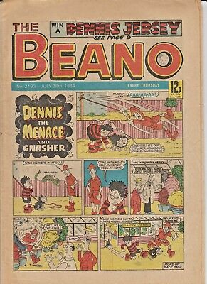 THE BEANO UK COMIC July 28 1984 No. 2193 Original  Birthday Gift