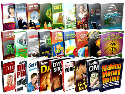 250000 Ebooks With Right to Resell 100% Profit $$$ - Immediate Shipping