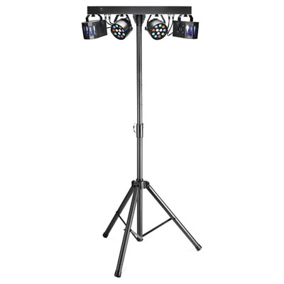 Stagg SLB 2P2D-3 Performer Lighting Set with 2 x ECOPAR XS and 2 Derbys