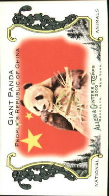 2010 Topps Allen Ginter Mini National Animals Giant Panda/Peoples Republic China