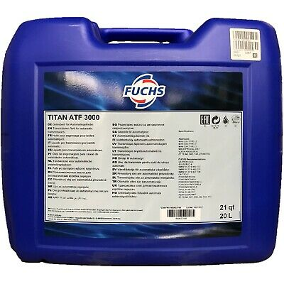 20 Liter FUCHS TITAN ATF 3000 Super High Performance ATF der Generation DEXRON