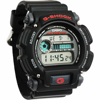 Casio DW9052-1V,  G-Shock 200 Meter Watch, Chronograph, Resin Strap, Alarm