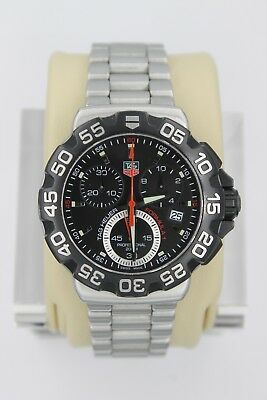 cd2a8c4ab01 Tag Heuer Formula One 1 F1 Watch Mens CAH1110.BA0850 RED BLACK MINT CRYSTAL  SS