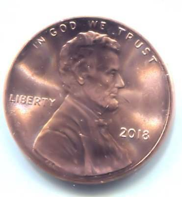 U.S. 2018 P Lincoln Shield Penny - Uncirculated One Cent Coin Philadelphia Mint