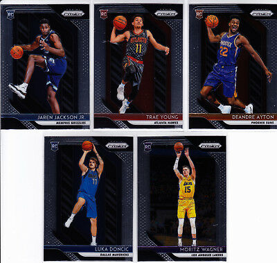 aea39ad53 2018-19 Prizm 1-300 komplett Set Luca Doncic Lebron James Stephen Curry