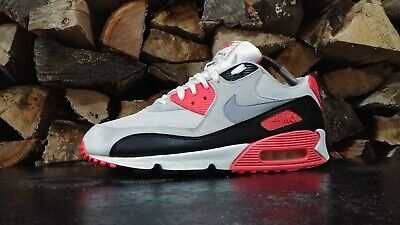 free shipping 32994 e956a 2010 Nike Air Max 90 Infrared Running Shoes Sz 12 46 M Used 325018 107  Sneakers