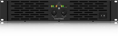Behringer KM750 Stereo 750-Watt Power Amplifier