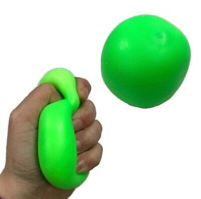 Green Super Soft Low Resistance Squishy Squeeze Stress Ball Toy Autism Fidget