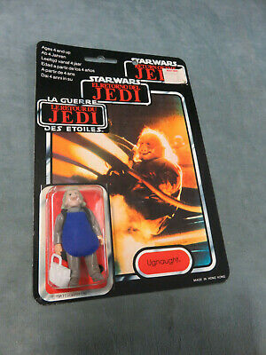 1983 STAR WARS Return of the Jedi Ugnaught Figure TRI-LOGO NEW ON CARD