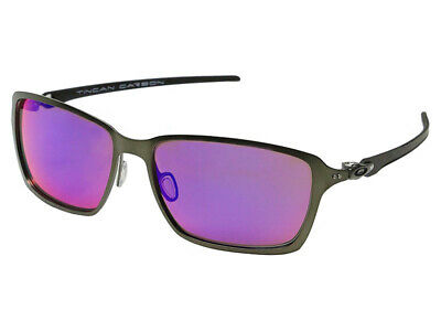 45fa5d265fd Oakley Tincan Carbon Polarized Sunglasses OO6017-03 Carbon OO Red Iridium