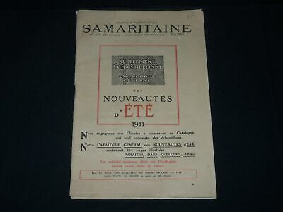 1911 Grand Magasins De La Samaritaine Echantillonne French Catalogue - Fr 1404
