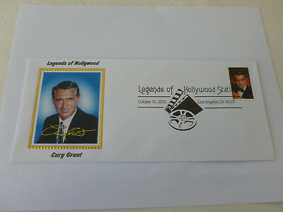 Cary Grant Legend of Hollywood 2002 Cover Sc#3692 (#10 Envelope) Colorano Cachet