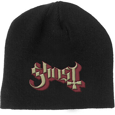 GHOST Classic Band Logo BEANIE EMBROIDERED 3D LOGO MÜTZE