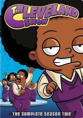 THE CLEVELAND SHOW TV SERIES COMPLETE SEASON TWO 2 New Sealed 4 DVD Set
