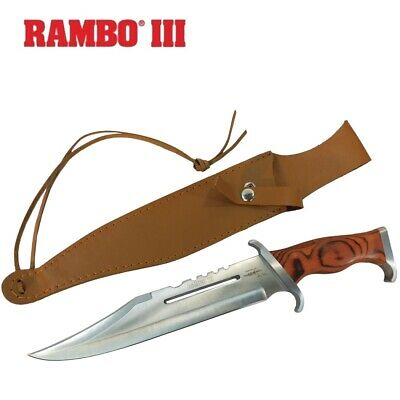 Rambo 3 Bowie Knife First Blood Stallone Military Combat Deluxe Edition