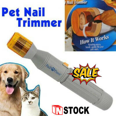 Pedi Paws Nail Trimmer Grinder Grooming Tool Care Clipper For Pet Dog Cat hot