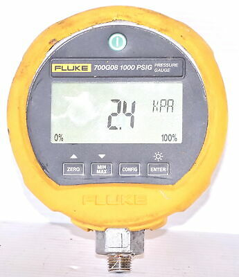 Fluke 700G08 Precision 1000psi Digital Pressure Calibration Gauge