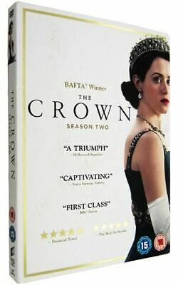 The Crown Season 2 Brand New & Sealed Complete UK DVD Boxset Region 2