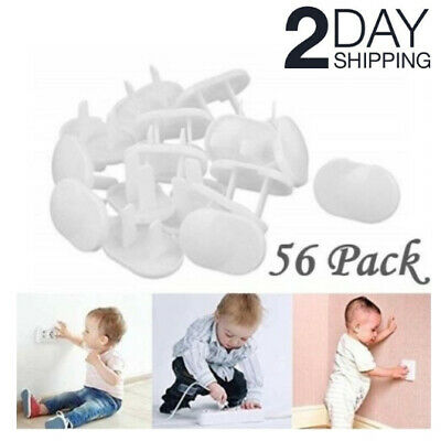 Baby Safety Outlet Covers Plug Protector Child Proof Electric Shock Guard 56 Pcs