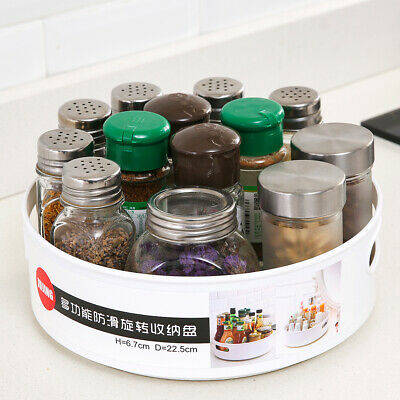 Desktop Storage Organizer Kitchen Spice Jars Cruet Container Catchall Bin