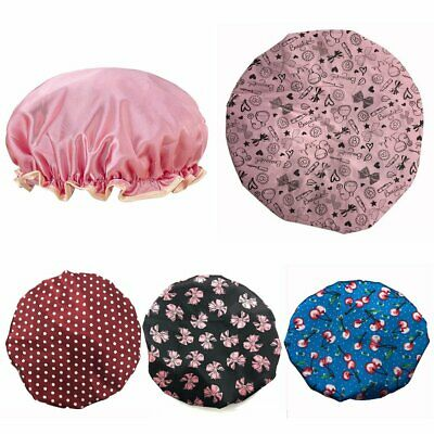 Luxury Collections Extra Large Polyester Shower Cap Hair Care Adult Kids YO
