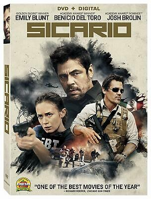 Sicario Digital O-ring Emily Blunt Denis Villeneuve DVD Action Adventure ADD-ON