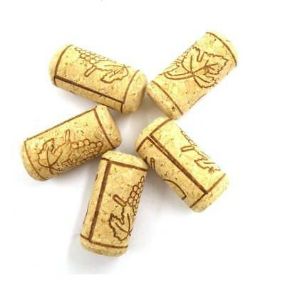 10pc Storage Material Wine Tools Round Cork Plugs Wine Stopper Bottle Plug Cork