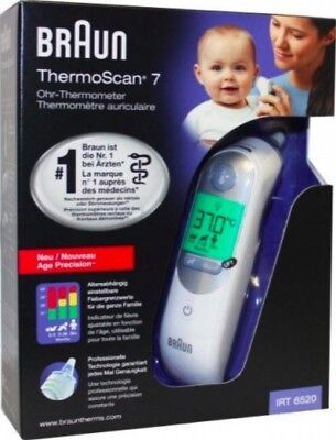 BRAUN Thermoscan 5 IRT6020 Newborn Infant Child Adult Digital Ear Thermometer
