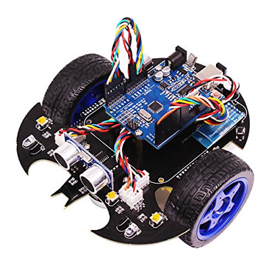 2WD TWO WHEEL Drive Full Robotics Kit with Continuous Servo