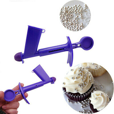 Plastic Pearl Applicator Fondant Cake Decor Tool Ball Sugarcraft Silicone US