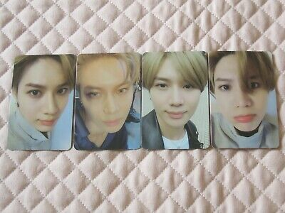 SHINee Taemin 2nd Mini Album WANT Want ver. More ver. Photocard K-POP