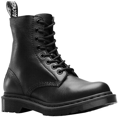 816c06a64d0622 DR.MARTENS 1460 PASCAL Mono Leather Casual Mono Ankle Womens Boots ...